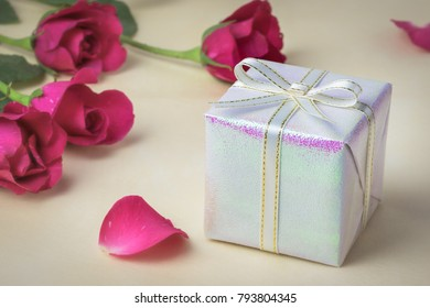 Gift box for valentine's day lovers.