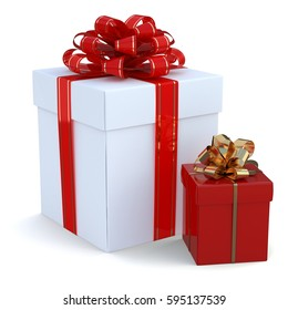 Gift Boxes (3d)