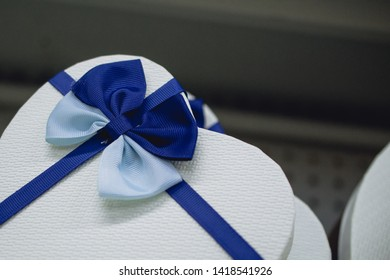 gift boxes decorated with a bow