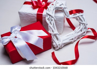 Gift boxes for the holiday for women.