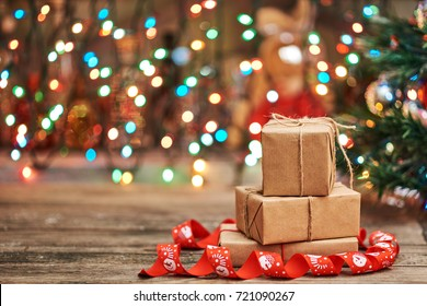 Christmas Gift Images Stock Photos Vectors Shutterstock