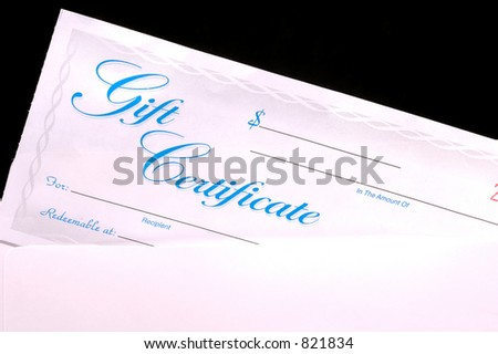 gift certificate envelope stock photo edit now 821834 shutterstock