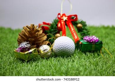 Christmas Golf Present Images, Stock Photos & Vectors   Shutterstock