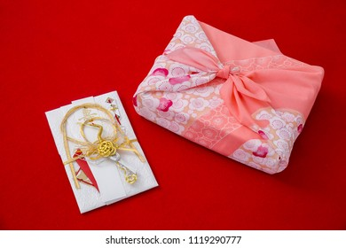 Gift money envelopes and box