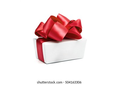 gift on the white background