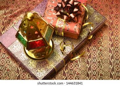 Gift packs and ramadan lantern