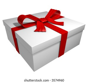 gift or present, box with red ribbon and bow, check my portfolio for variations.