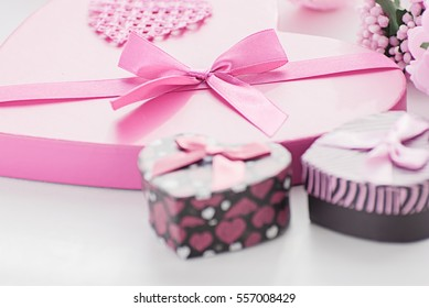 Gift set for a romantic evening on Valentine's Day