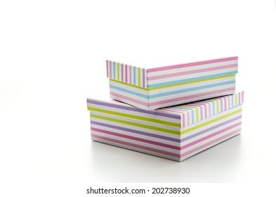 Giftbox isolated on white