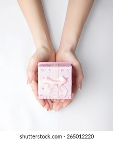 giftbox isolated on the white background