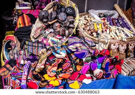 The gifts of Bolivian culture