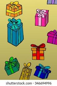 Gifts pattern