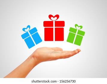 Gifts symbol