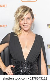 Gigi Edgley attends INFOLIST PRE-EMMYS SOIREE  at Skybar at the Mondrian Hotel, West Hollywood, California on September 12th, 2018