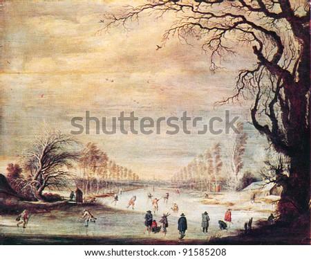 Gijsbrecht Lijtens 1586 C 1643 Winter Stock Photo (Edit Now
