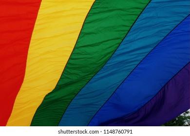 Gilbert Baker LGBT Pride Flag