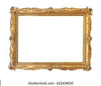 Gilded wooden frame for a picture or a mirror