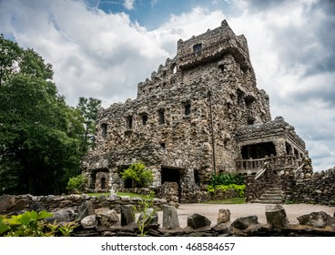 Gillette castle In East Haddam Connecticut.