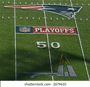 Gillette Stadium During 2007 Playoffs