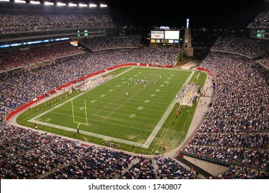 Gillette Stadium- home of the Patriots