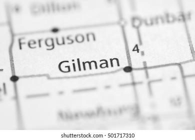 Gilman. Iowa. USA.