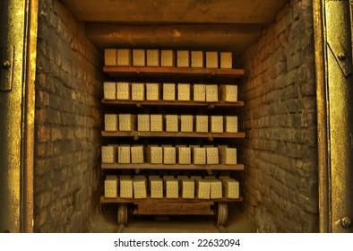 gilt bricks