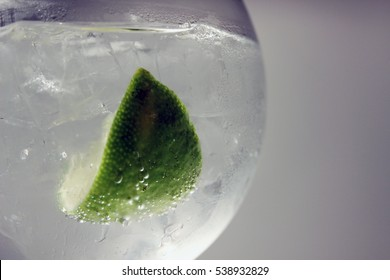 Gin Tonic with Lime