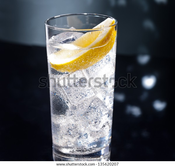 Gin Tonic Tom Collins On Dance Stock Photo (Edit Now ...