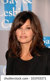 """Gina Gershon at the L.A. Gay and Lesbian Center's """"An Evening With Women: Celebrating Art,  Music and Equality,"""" Beverly Hilton Hotel, Beverly Hills, CA. 05-01-10"""