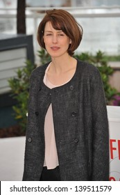 """Gina McKee at the photocall for her movie """"Jimmy P. Psychotherapy of a Plains Indian"""" in competition at the 66th Festival de Cannes. May 18, 2013  Cannes, France"""