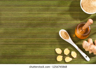 Ginger with antiviral properties - Zingiber officinale