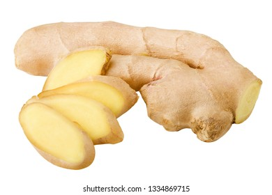 ginger, isolated on white background, clipping path, full depth of field