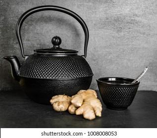ginger tea wallpaper