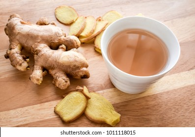Ginger tea,Asian herbal hot drink made from ginger root. It has been widely used s a herbal medicine in Asia,also usually used to prevent cold and help with digestion, upset stomach, diarrhea, nausea.