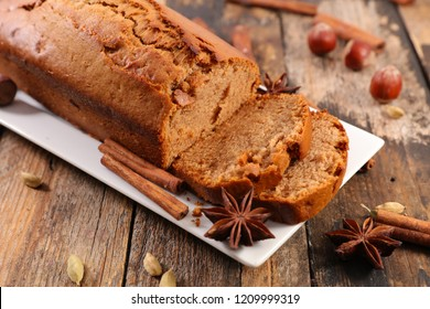 gingerbread cake and spice
