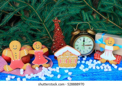 Gingerbread for Christmas and New Year.