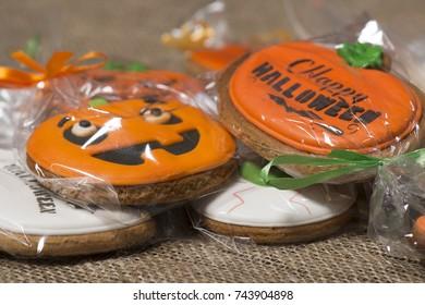 Gingerbread cookies for Halloween