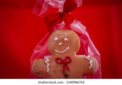 Gingerbread doll for Christmas