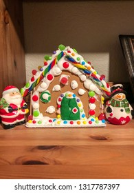 "Gingerbread dough is used to build gingerbread houses similar to the ""witch's house"" encountered by Hansel and Gretel."
