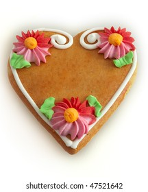 gingerbread hearth, a name or a text can be putted inside