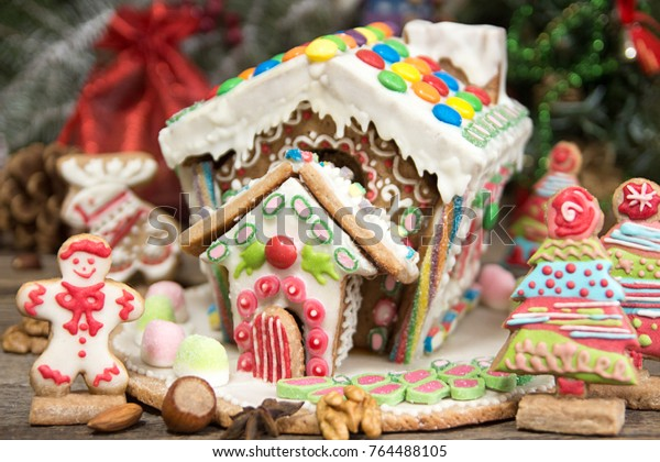 Gingerbread House Christmas Holiday Sweets European
