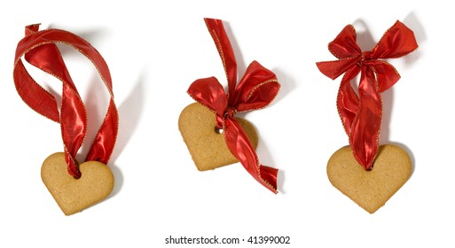 gingerbread with ribbon