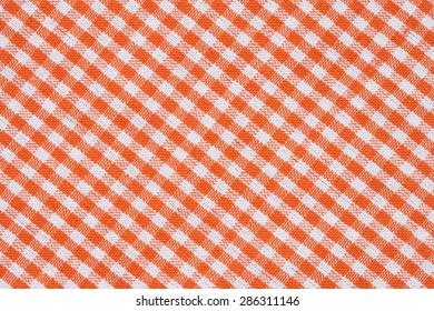 Gingham chuck cloth