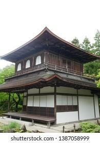Ginkakuji in Kyoto (aka: Jishouji Temple)