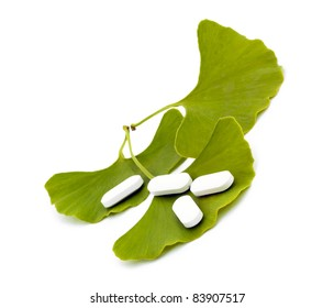 Ginkgo biloba leaves and pharmaceuticals.