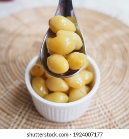 Ginkgo nuts are the seed found inside the fruit of ginkgo tree