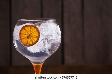 Gintonic with orange