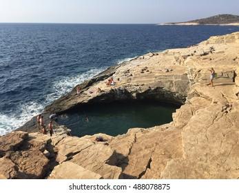 Giola Thasos - natural pool