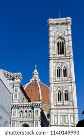 Giotto's Bell Tower in cathedral of Santa Maria del Fiore in Florence