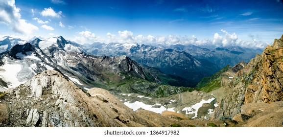 Gipfelwelt 3000, Kitzsteinhorn, Alps in summer